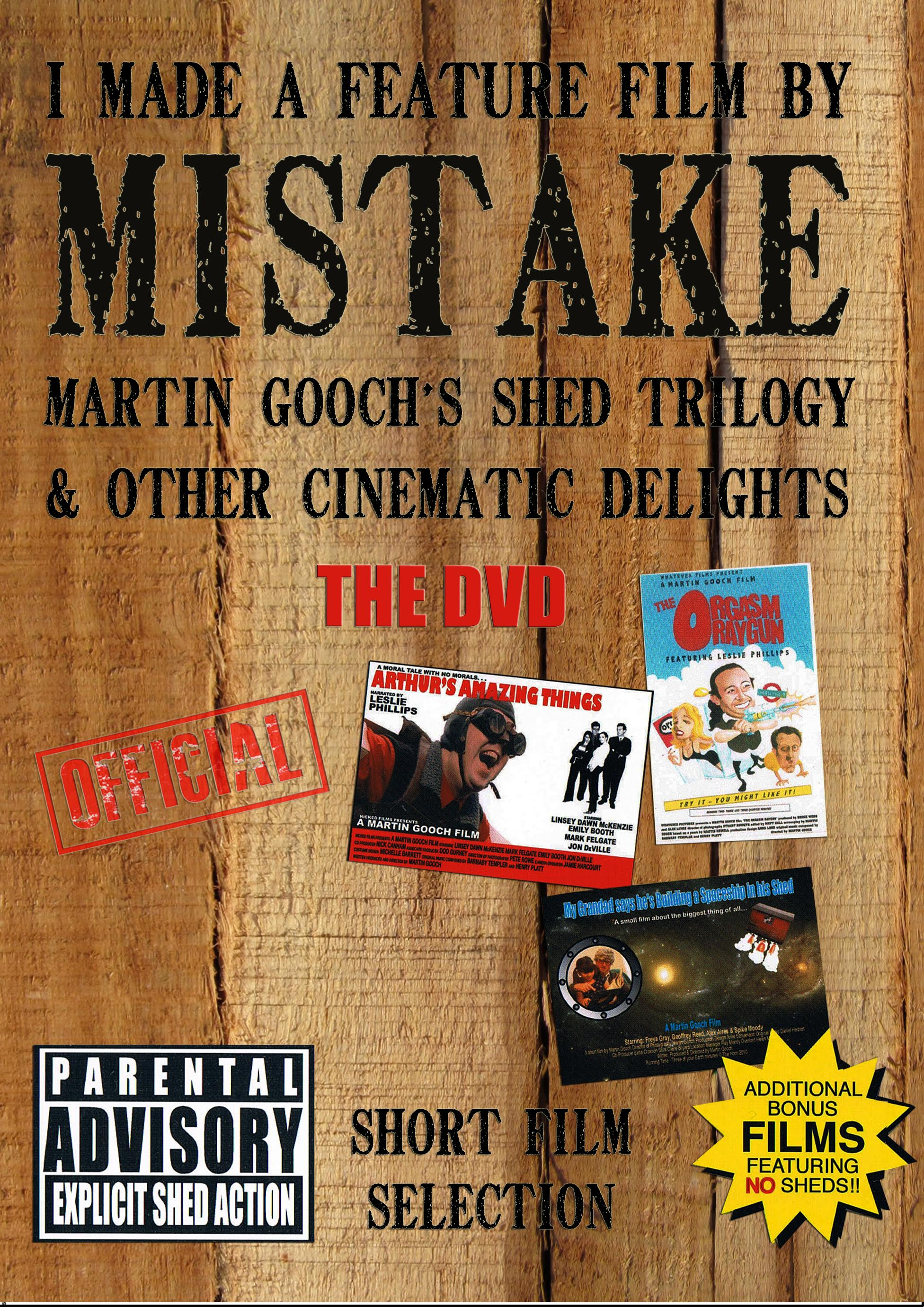 I Made a Feature Film by Mistake (Script book)